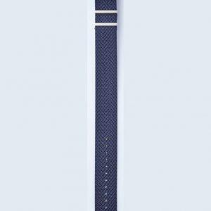 Herringbone Twill strap - Icarus Blue